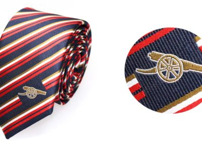 Arsenal-tie-with-woven-logo