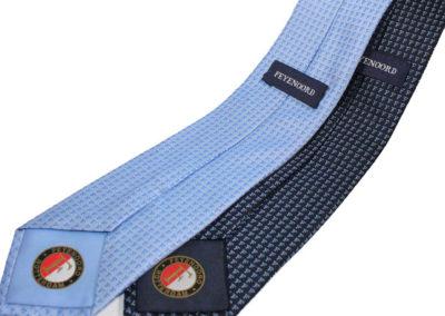 Feyenoord-stropdas-label