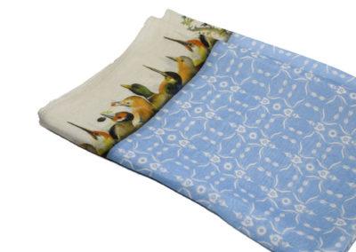 Jheronimus-Lichtblauwe-shawl-met-vogelrand