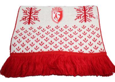 LOSC-gebreide-sjaal