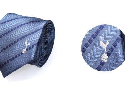 Tottenham-tie-with-woven-logo
